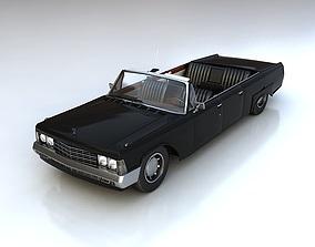 3D model Zil114 cabriolet