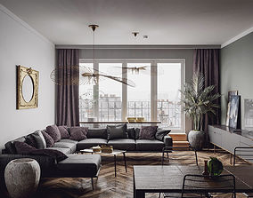 3D Paris Luxury Apartment