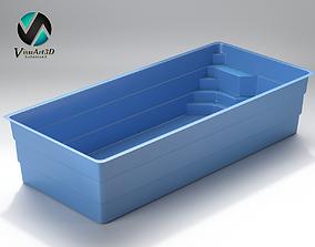 3D model Swiming pool 7
