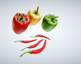 Peppers Pack 3D asset