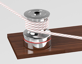 Winch for Boat 3D model