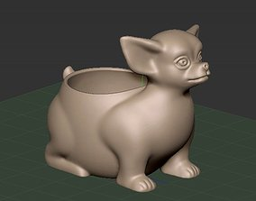 pot-chihuahua 3d print model