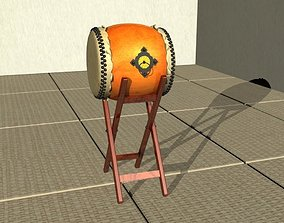 Taiko Drum Sports and Hobbies 3D model