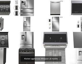 3D Kitchen appliances Whirpool