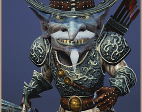3D asset Goblin Baron