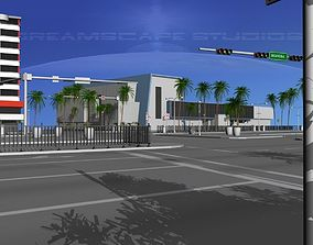 3D model Downtown Miami