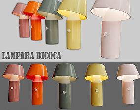 3D Lampara Bicoca Marset Barcelona