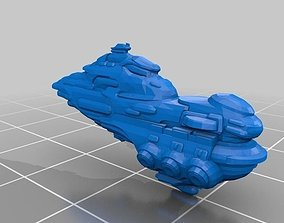 Eve Online - Moros Gallente Dreadnought 3D printable model