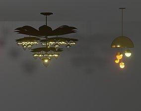 3D asset Lights collection2