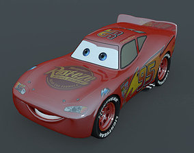 3D model Lightning Mcqueen Character