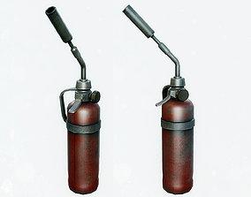 Blowtorch Tool 3D asset