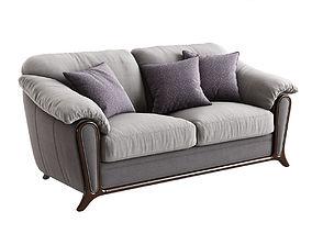 3D Merx Anastasia Three-Seat Sofa
