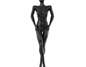 Female Abstract Mannequin 74 3D