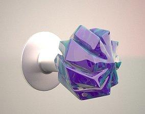 3D model Modern Crystal Doorknob