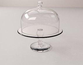3D Cake Stand Dome