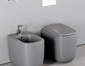 3D asset Ceramica Flaminia Mono WC