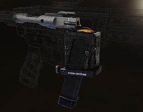 AR15 to 9mm conversion kit 3D asset