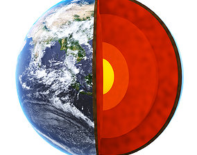 Earth terrain 3D model