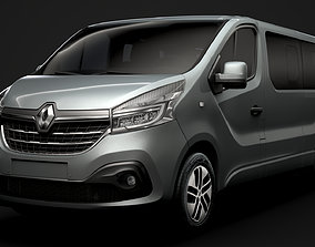 Renault Trafic SpaceClass LWB 2020 3D