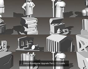 Lisboa Boardgame Upgrade Pack 3D