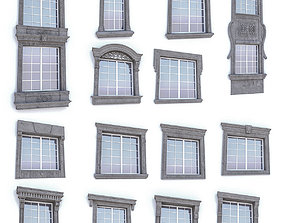 3D asset Classic Window Collection