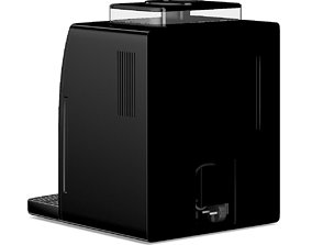 Black Espresso Coffee Machine 3D