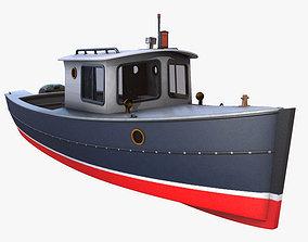 3D model Cruiser Boat