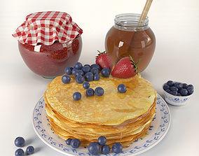 3D model Pancakes