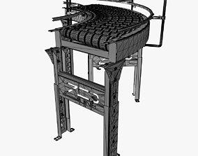 3D model Conveyor - Zipline RZCDC