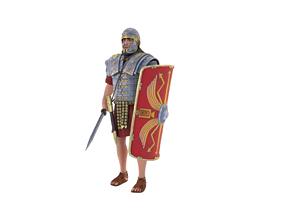 3D model Roman Legionary
