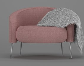 interior residential-space chair 3D model