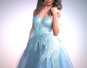 fantasy 3D Dforce Swan Outfit