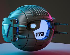 3D model SCIFI Drone