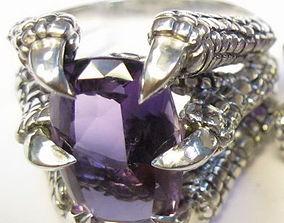 Dragons Claw ring - original 3D printable model