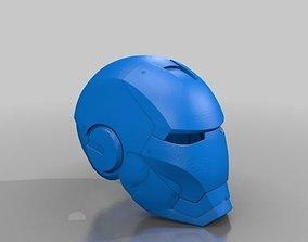 Iron man Helmet MKIII 3D print model