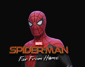 man 3D printable model Spider Man Far From Home