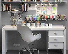 Office furniture 20 3D