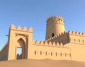 3D asset Arab Fort