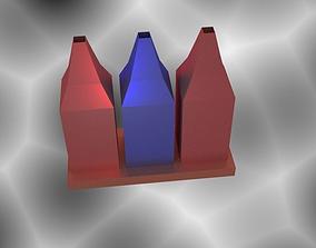 Bottle Vase 3D print model