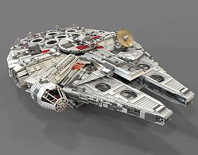 Lego spaceship 3D