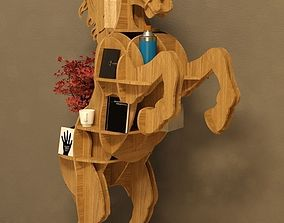 3D Cofee table Horse