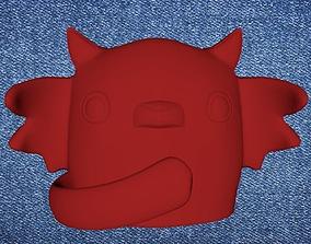 3D printable model cute little vampire