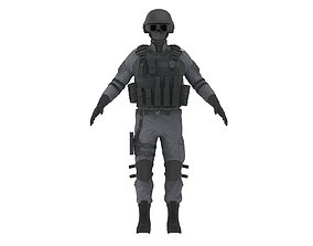 Police Special Force Officer 3D