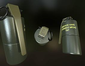 MK3A2 Grenade 3D asset