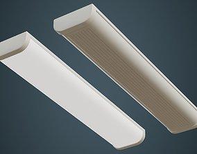 Fluorescent Bulb 2A 3D asset
