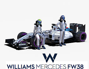 Williams FW38 3D model