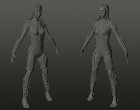 3D model character elf