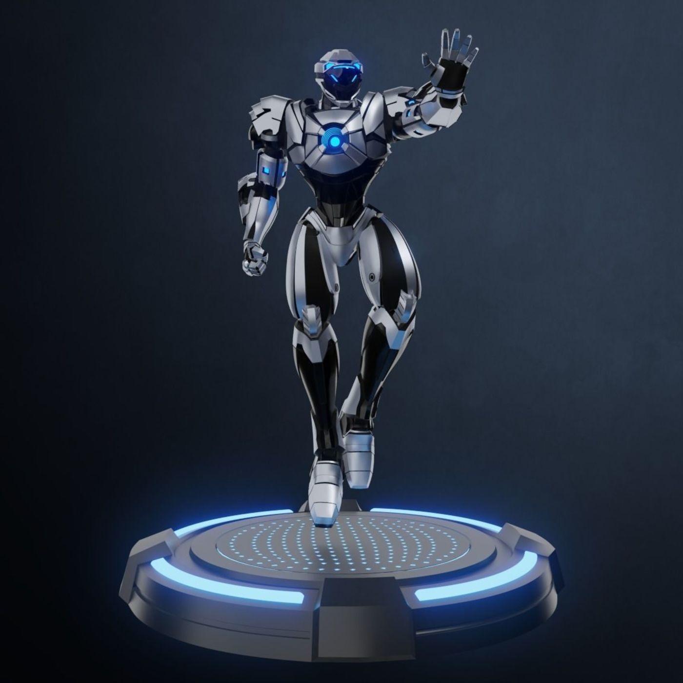 Robot Character RTS01