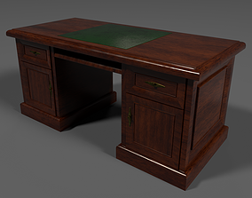 3D model game-ready Cabinet Table