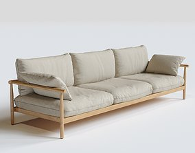DEDON Tibbo 3-SEATER Sofa 3D